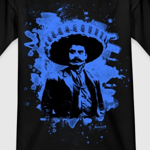 Emiliano Zapata - bleached blue - Teenager T-Shirt