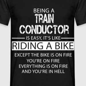 Train Conductor T-Shirts - Men's T-Shirt