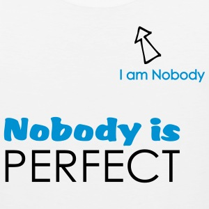 Nobody is perfect (I'm Nobody) sport - Débardeur Premium Homme