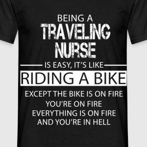 Traveling Nurse T-Shirts - Men's T-Shirt