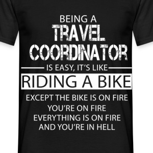 Travel Coordinator T-Shirts - Men's T-Shirt