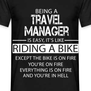Travel Manager T-Shirts - Men's T-Shirt