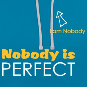 Nobody is perfect (I'm Nobody) Sweat-shirt - Sweat-shirt contraste
