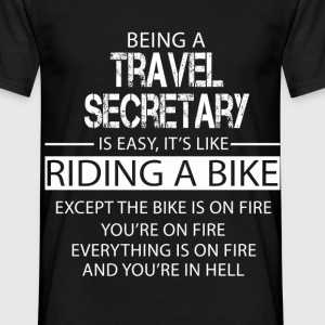 Travel Secretary T-Shirts - Men's T-Shirt