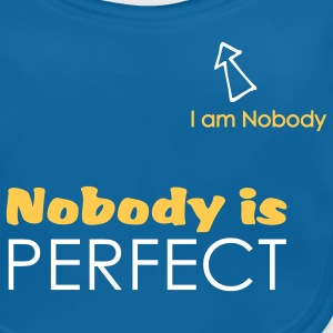 Nobody is perfect (I'm Nobody) - Bavoir bio Bébé