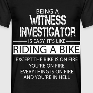 Witness Investigator T-Shirts - Men's T-Shirt