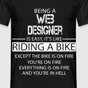 Web Designer T-Shirts - Men's T-Shirt