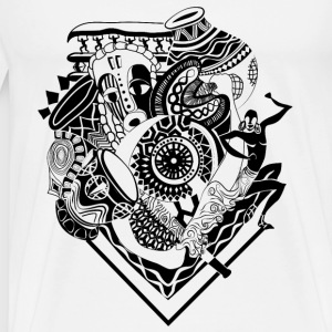 Afrocentrique - Men's Premium T-Shirt
