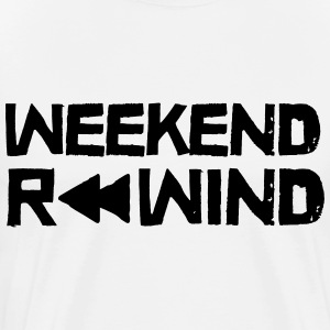 Weekend Rewind T-shirts - Herre premium T-shirt