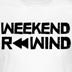 Weekend Rewind T-shirts - Dame-T-shirt