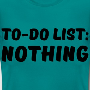 To-Do List: Nothing Camisetas - Camiseta mujer