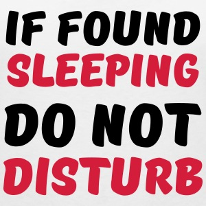If found sleeping, do not disturb Magliette - Maglietta da donna scollo a V
