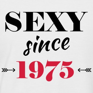 Sexy since 1975 Tee shirts - T-shirt baseball manches courtes Homme