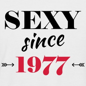 Sexy since 1977 T-Shirts - Men's Baseball T-Shirt