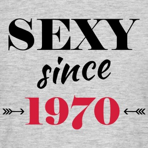 Sexy since 1970 T-shirts - Herre-T-shirt