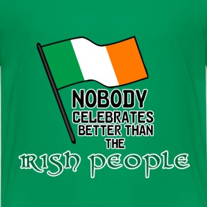 Irish People T-Shirts - Kinder Premium T-Shirt