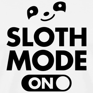 Sloth Mode (On) T-Shirts - Männer Premium T-Shirt