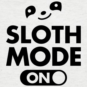 Sloth Mode (On) T-Shirts - Men's V-Neck T-Shirt