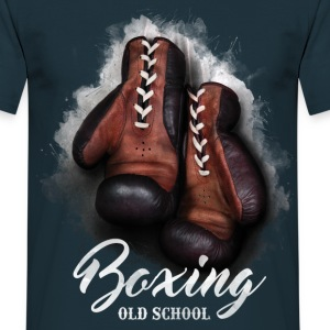old school boxing T-Shirts - Männer T-Shirt