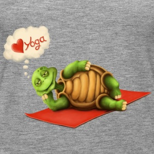 Love-Yoga Turtle Tops - Frauen Premium Tank Top