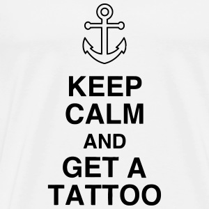 Tatoo / Tattooed / Tattooist / Biker / Piercing T-Shirts - Men's Premium T-Shirt