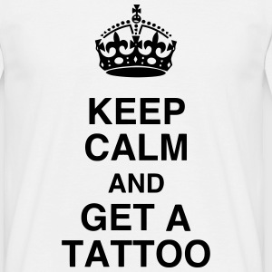 Tatoo / Tattooed / Tattooist / Biker / Piercing T-Shirts - Men's T-Shirt