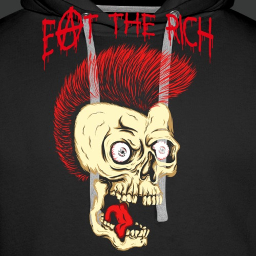 Eat The Rich (Vintage - For Dark Shirts)