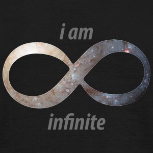 i am infinite T-Shirts - Men's T-Shirt
