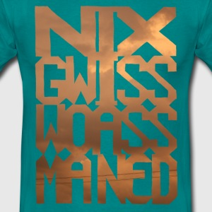 nixgwisswoassmaned-orange T-Shirts - Männer T-Shirt