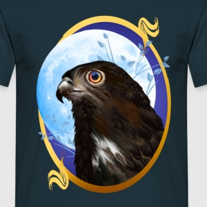 Black-chested snake eagle  - Männer T-Shirt