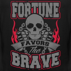 fortune favors the brave Sportbekleidung - Männer Premium Tank Top