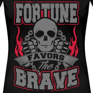 fortune favors the brave T-Shirts - Frauen Premium T-Shirt