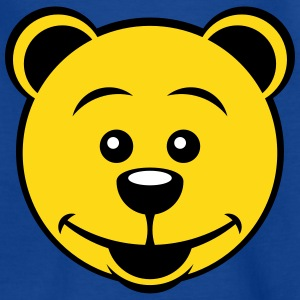 Teddy Bear (Smiling / 3C) Shirts - Kids' T-Shirt