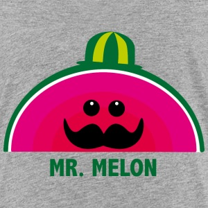 Mr. Melon T-shirts - Børne premium T-shirt