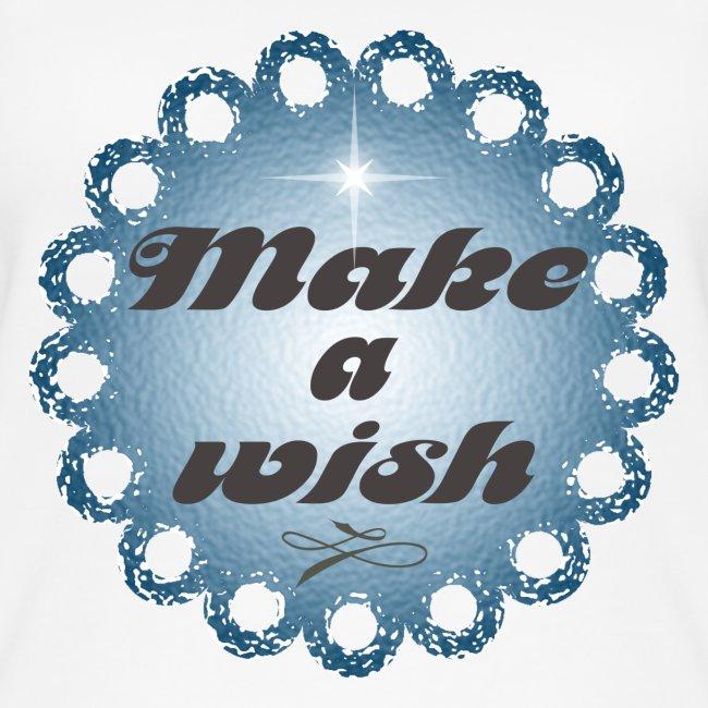 Débardeur en coton Bio Make a wish