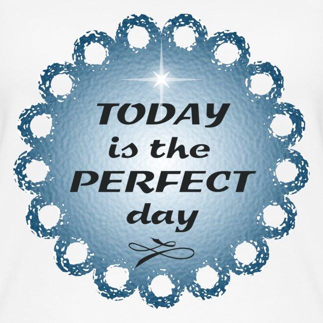 débardeur en coton Bio Today is the perfect day