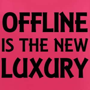 Offline is the new luxury Abbigliamento sportivo - Top da donna traspirante