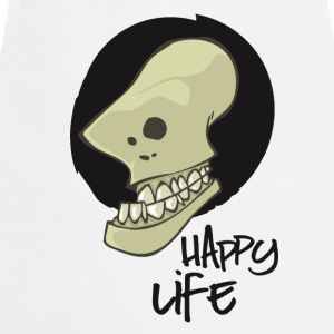 happy life  Aprons - Cooking Apron