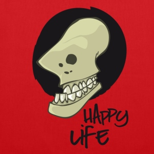happy life Sacs et sacs à dos - Tote Bag