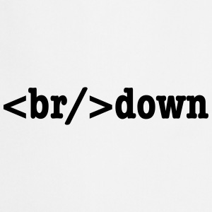 breakdown HTML Code Aprons - Cooking Apron