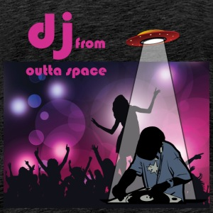 deejay from outer space T-Shirts - Männer Premium T-Shirt