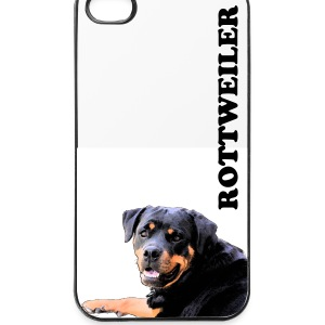Rottweiler Handy Cover - iPhone 4/4s Hard Case