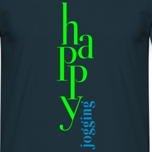 happy_jogging T-Shirts - Men's T-Shirt