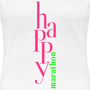 happy_marathon T-Shirts - Women's Premium T-Shirt