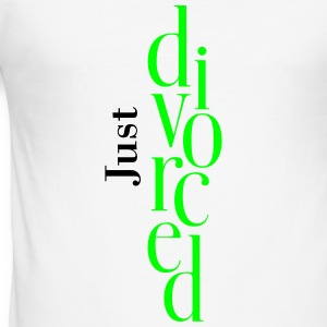 just_divorced T-Shirts - Men's Slim Fit T-Shirt
