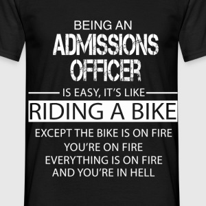 Admissions Officer T-Shirts - Men's T-Shirt