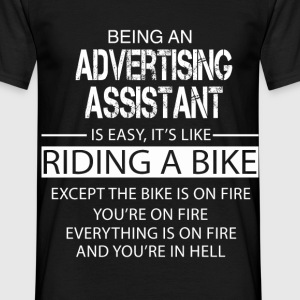 Advertising Assistant T-Shirts - Men's T-Shirt