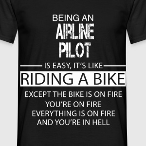 Airline Pilot T-Shirts - Men's T-Shirt