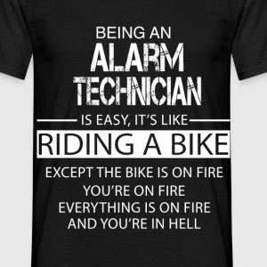 Alarm Technician T-Shirts - Men's T-Shirt