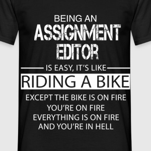 Assignment Editor T-Shirts - Men's T-Shirt